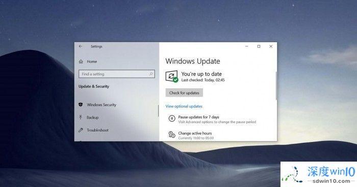 微软 Win10 21H1正式版更新升级的3种方式