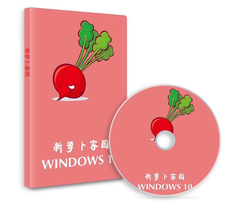 新萝卜家园Win10 21H1专业版64位 系统2021.10