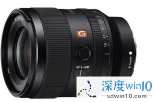 索尼 FE 35mm F1.4 G 大师镜头开启预售:售价 11300 元