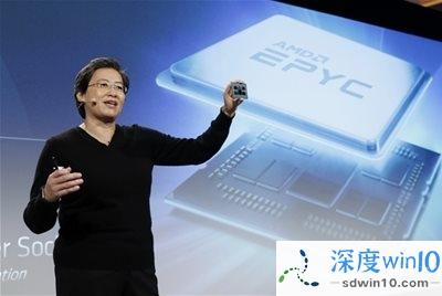 AMD官宣!3月16日0点 苏妈亲自发布三代霄龙