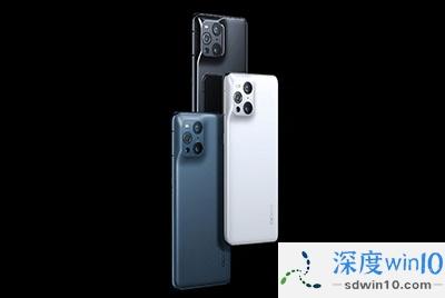 OPPO Find X3 系列三款配色外观公布:镜黑、雾蓝、凝白