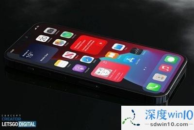 iPhone 13 Pro全新概念渲染图曝光 Touch ID可能回归